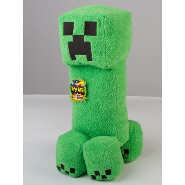 Мягкая игрушка крипер своими руками