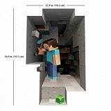 "Наклейка на стену ""Minecraft Digging Wall Cling Sticker"""