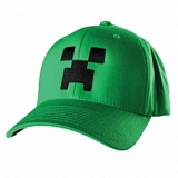 "Бейсболка ""Minecraft Creeper Flexfit Hat"""